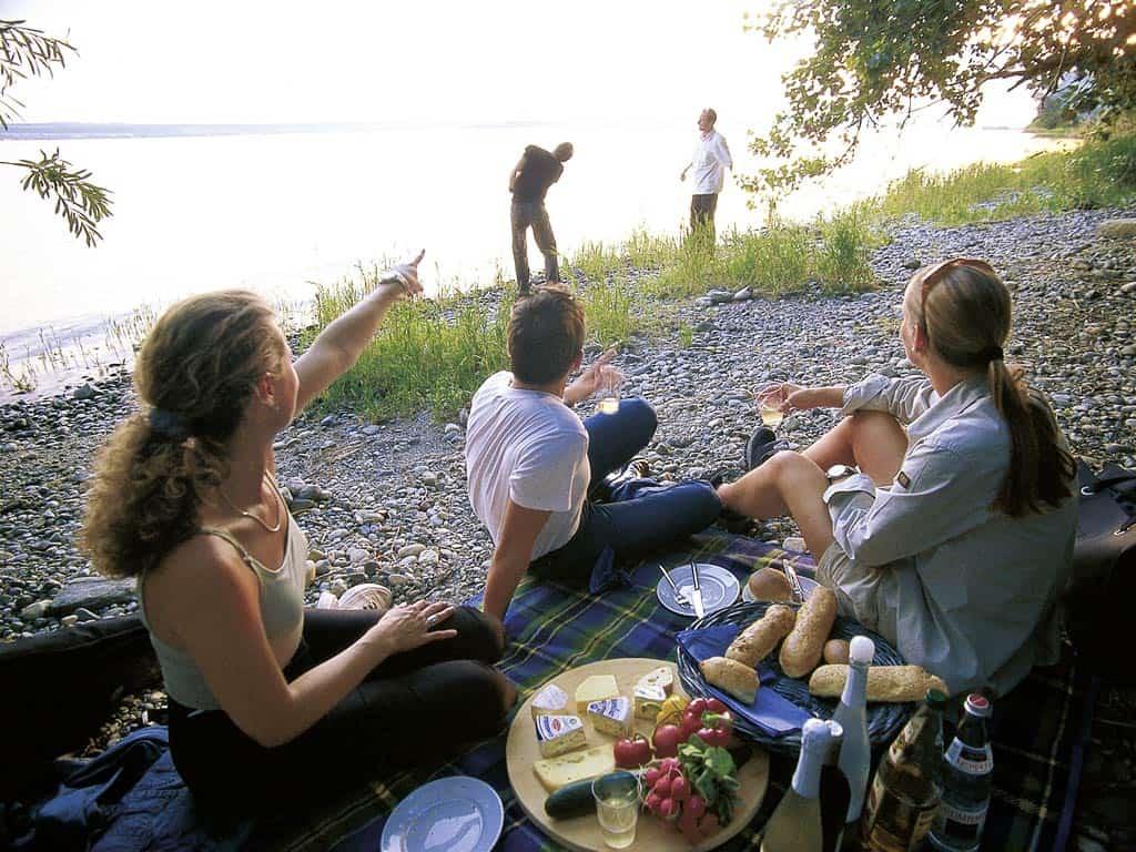 Ferienwohnung Meersburg Picknick Am See