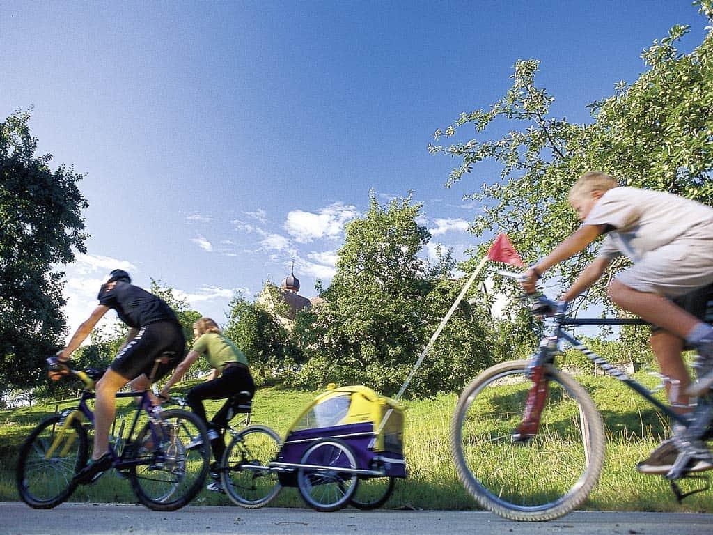 Ferienwohnung Meersburg Radfahrer Baitenhausen